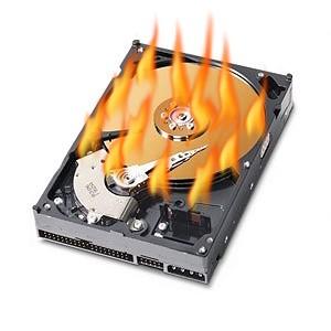 Crash de disque dur, à vos sauvegardes!