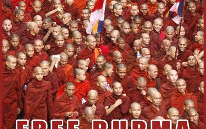 Free Burma, action du 4 octobre