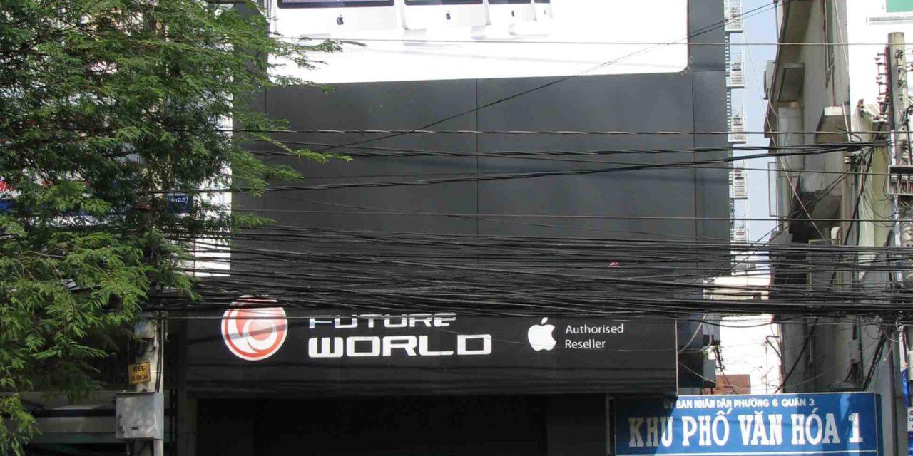 Revendeur Apple à Saigon