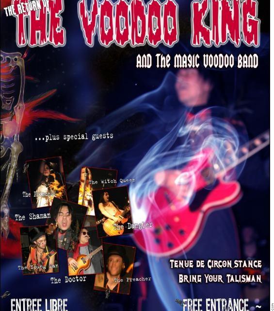 Voodoo King de retour sur La Scène
