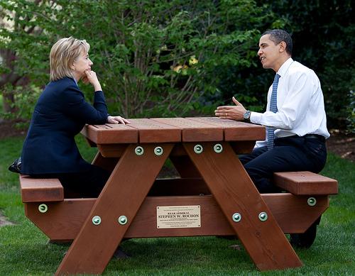 Les photos du Président Obama sur Flickr, sous Creative Commons