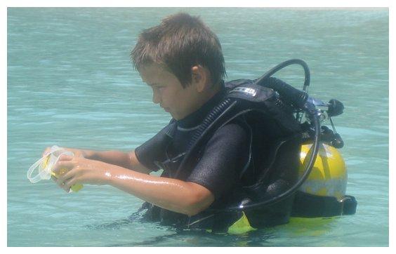 Où faire un baptême de plongée en Suisse ?