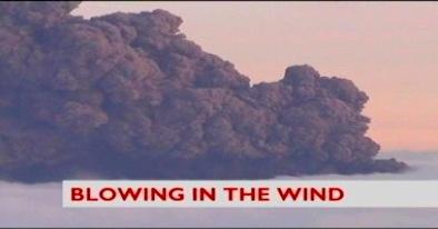 Volcan Eyjafjöll: Blowing in the wind