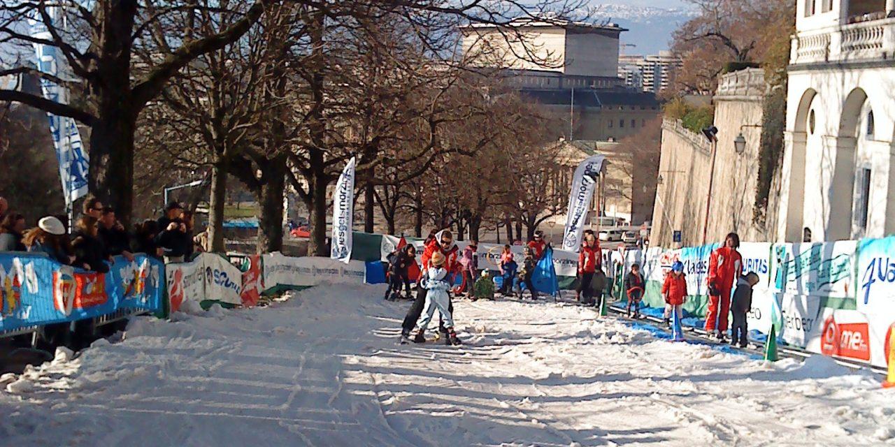 Skiville à Genève: la piste de ski la plus courte du monde