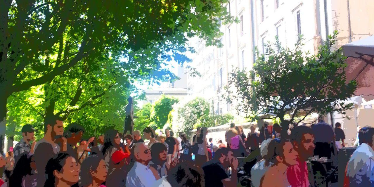 De retour à la fête de la musique à Genève