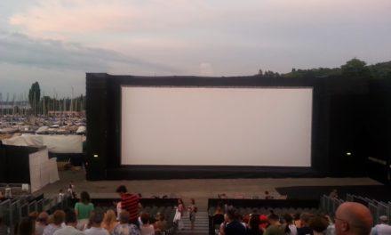 Open Air Orange Cinema à Genève: premières impressions