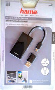 câble OTG USB pour smartphone