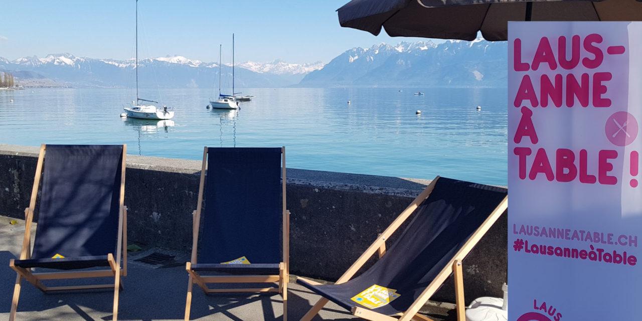 Lausanne se (re)met à table!